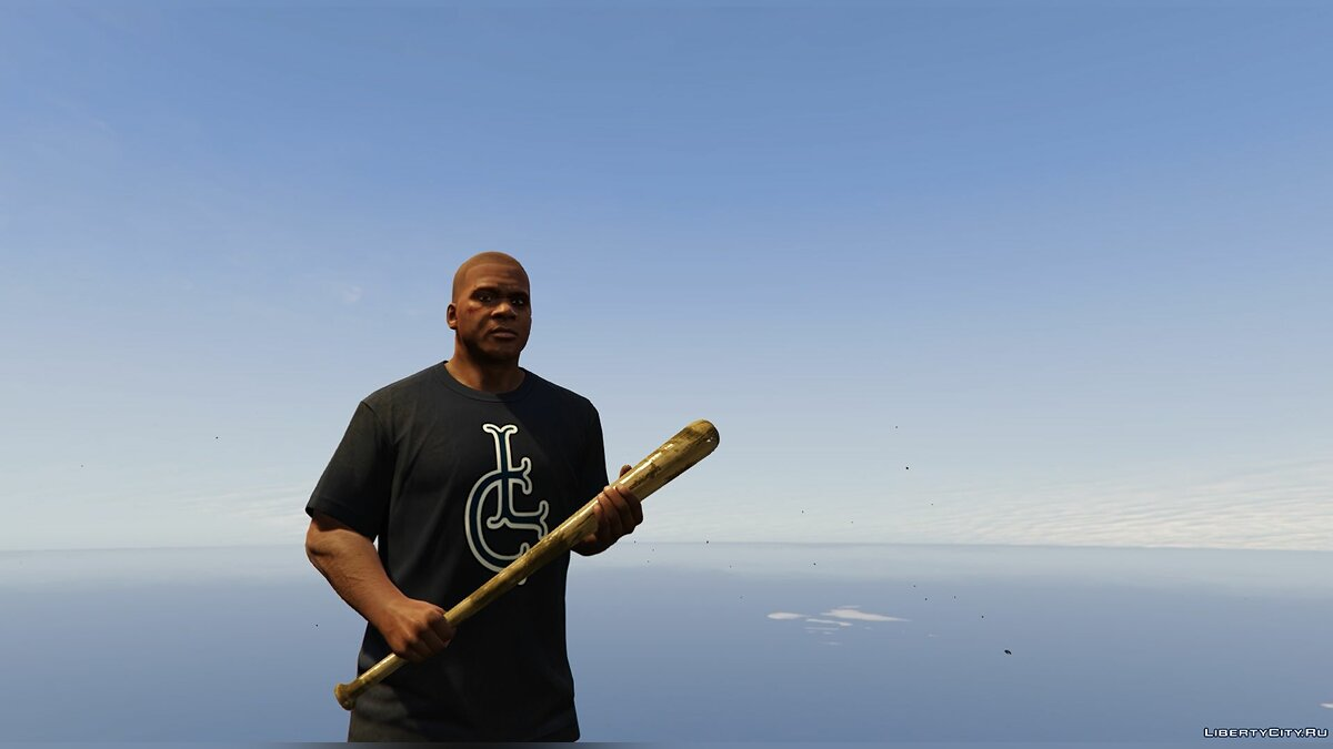 Left4Dead2 fire axe and baseball bat для GTA 5