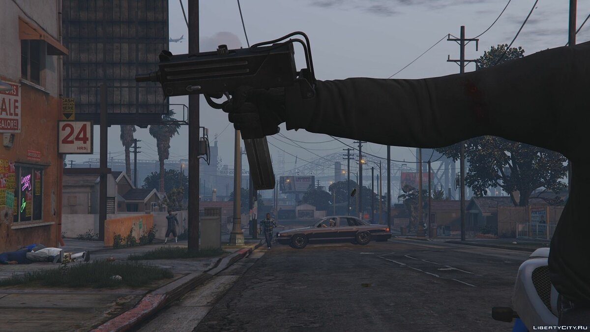 ��ружейный мод Ingram Mac-11 для GTA 5