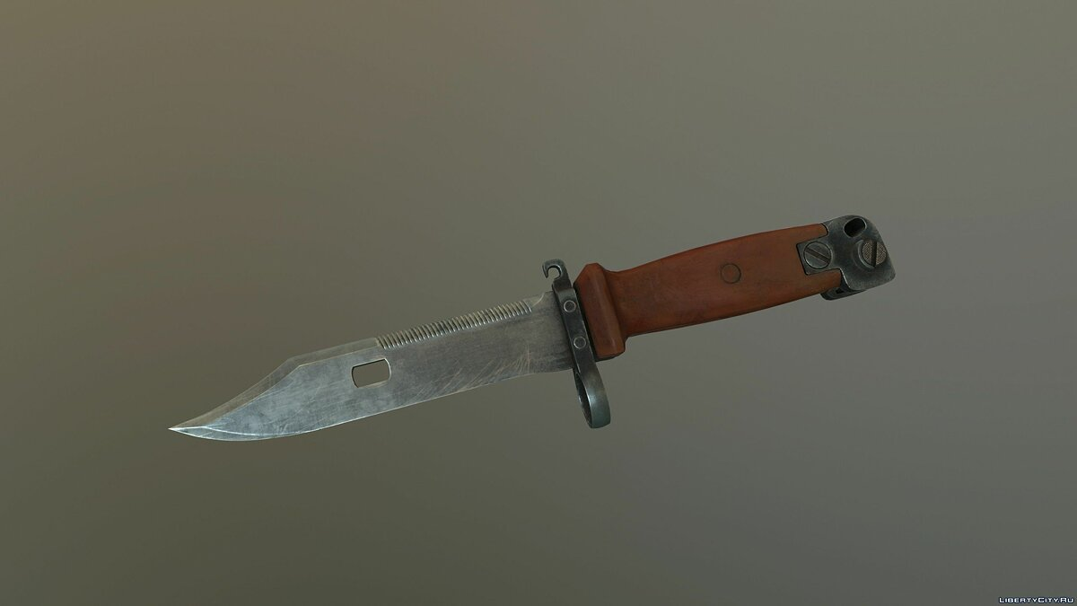 Bayonet 6x4 [2K | High poly] для GTA 5