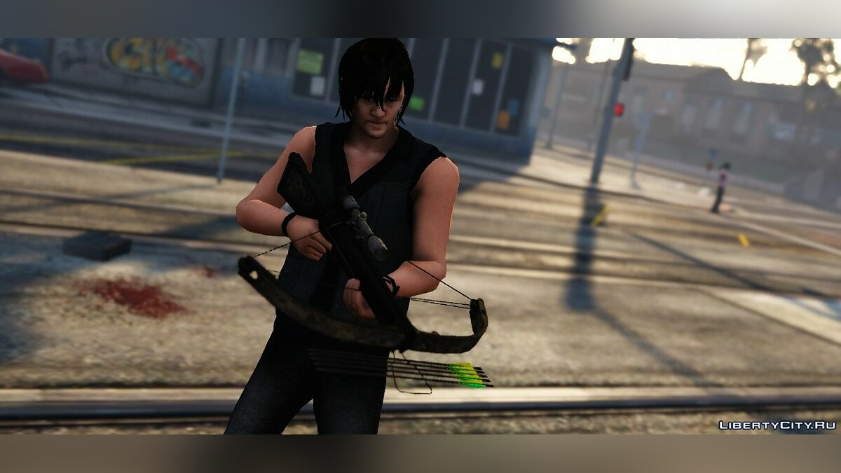 The Walking Dead - Daryl Dixon Crossbow 1.3 для GTA 5