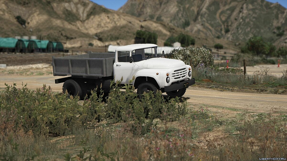 Машина ЗИЛ ZIL-130+131(AMUR 53131) Add-on 1.0 для GTA 5