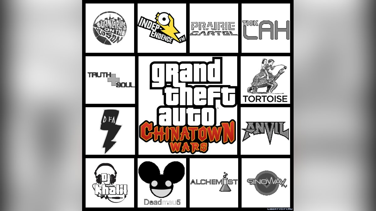 Рингтон Grand Theft Auto: Chinatown Wars (Unofficial Full Soundtrack) для GTA Chinatown Wars