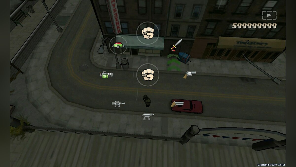 ��охранение GTA CTW Save (IOS, Android) для GTA Chinatown Wars