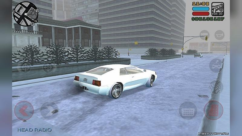 Мод Winter Mod for GTA LCS Mobile для модмейкеров