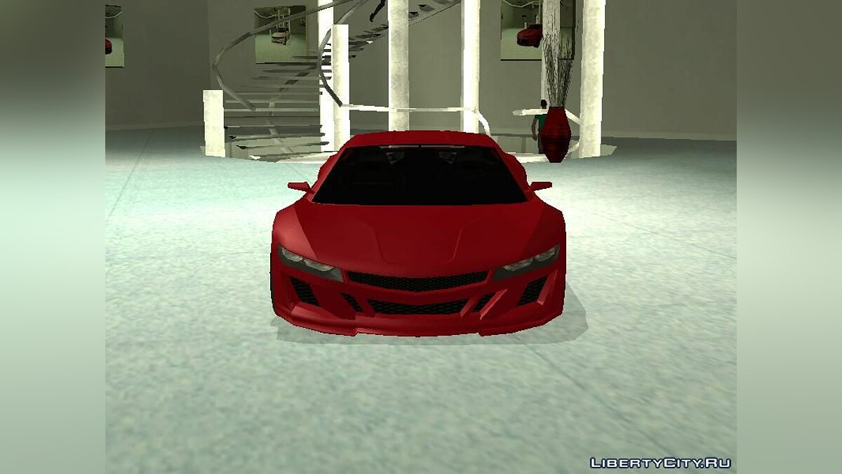 Машина Acura Acura NSX 2017 Lowpoly для GTA San Andreas