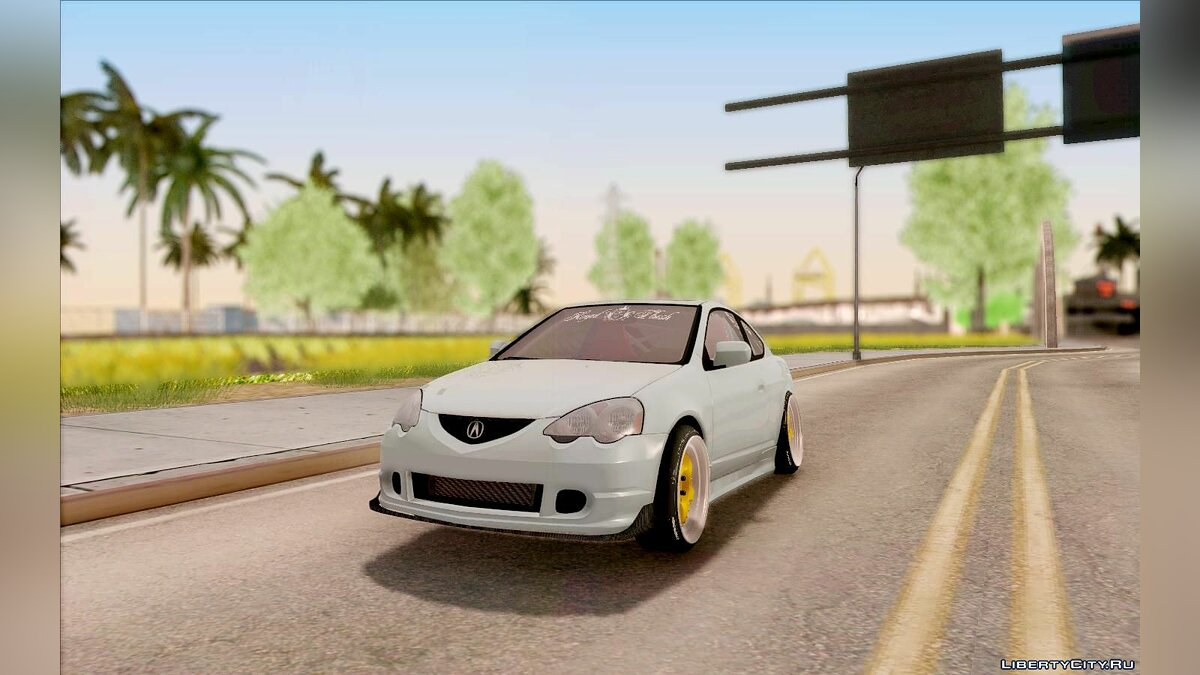 Acura RSX Stance для GTA San Andreas