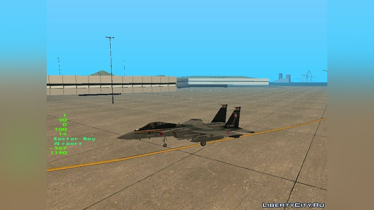 F-15J Hyakuri Air Base 30th Anniversary для GTA San Andreas - скриншот #2
