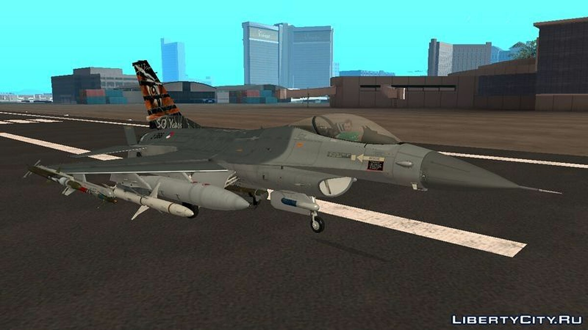F-16 Fighting Falcon 50th Anniversary of Squadron 313 для GTA San Andreas