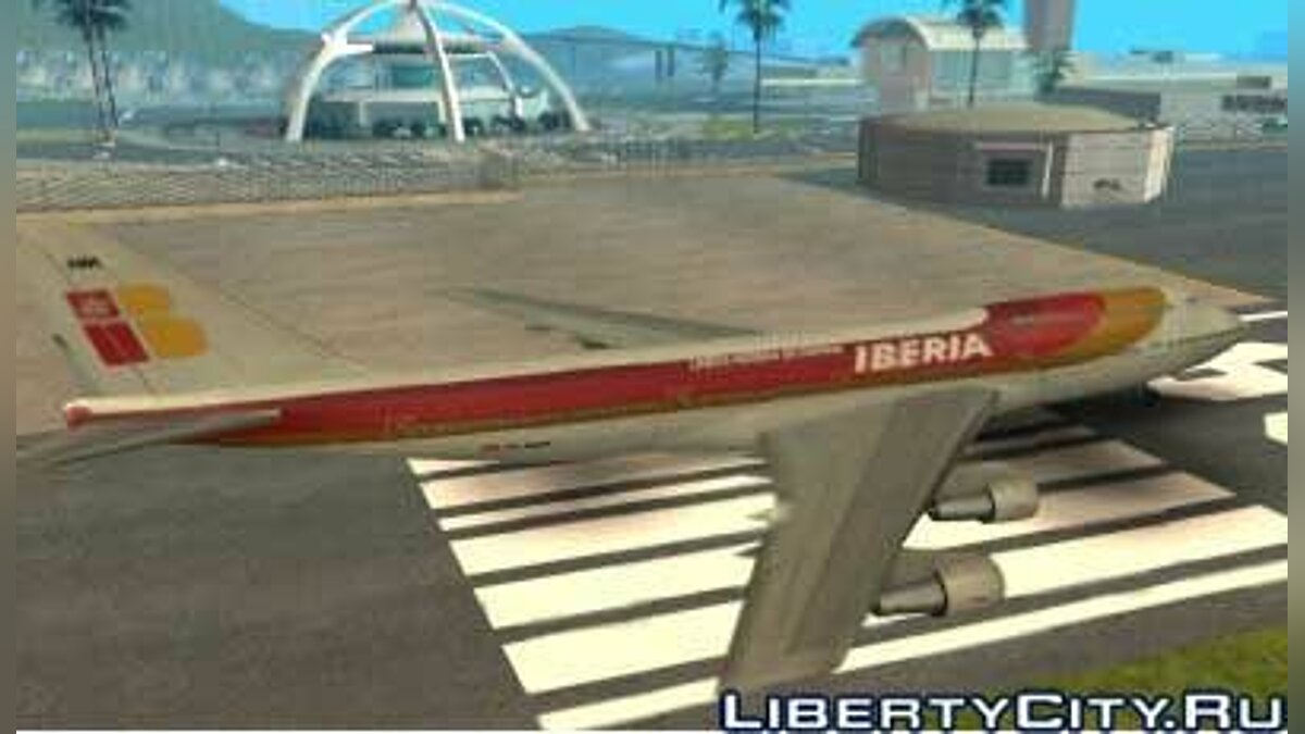 Iberia Airlines Boeing 747-400 TF-AMA для GTA San Andreas