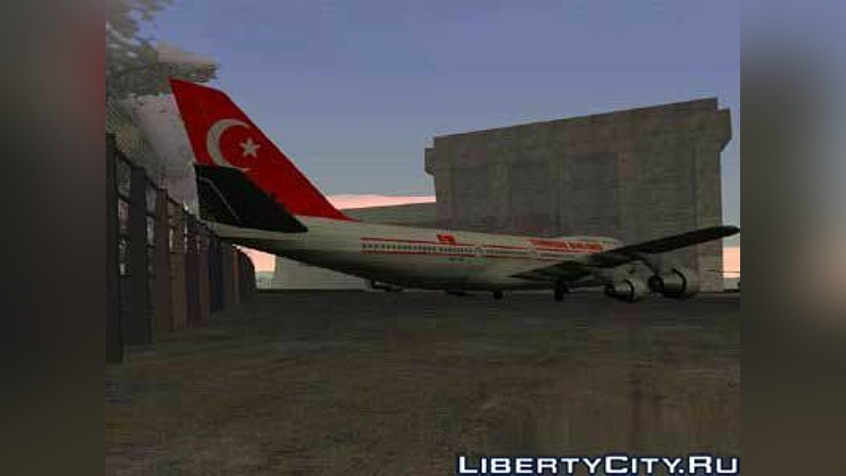 Turkish Airlines v1 для GTA San Andreas