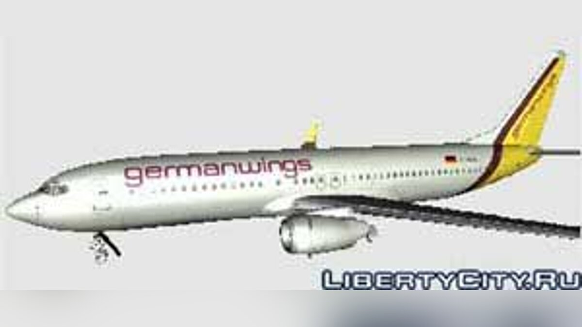 Germanwings Boeing 737 800 Skin для GTA San Andreas