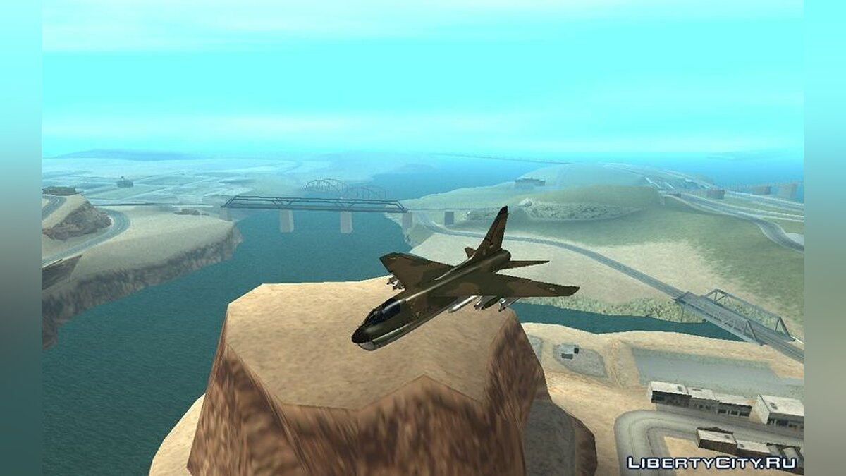 Ling-Temco-Vought A-7 Corsair II Belkan Air Force для GTA San Andreas - скриншот #2
