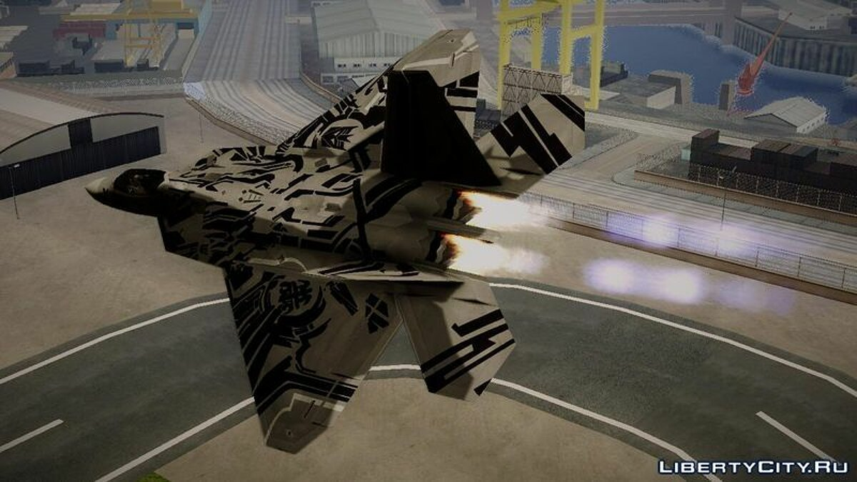 F-22 Raptor Starscream для GTA San Andreas