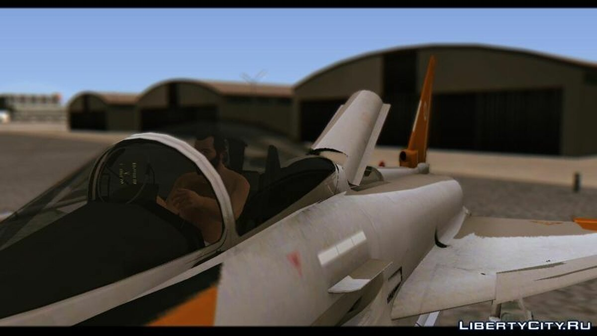 EF2000 Typhoon Federal Erusea Air Force для GTA San Andreas - скриншот #4