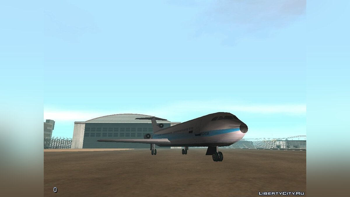 DMA Airtrain from GTA III v1.0 для GTA San Andreas