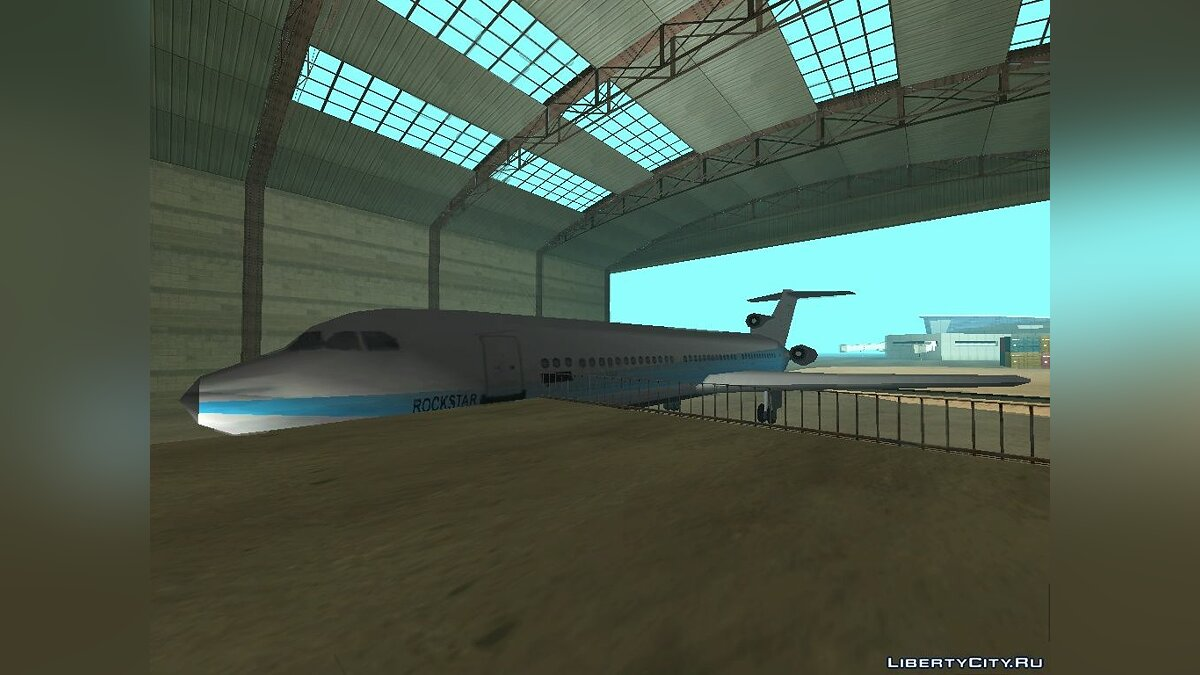 DMA Airtrain from GTA III v1.0 для GTA San Andreas - скриншот #5