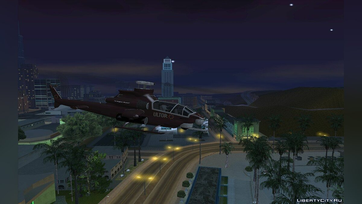 Самолет и вертолет Ultor Tornado from Saints Row 2 v2.0 для GTA San Andreas