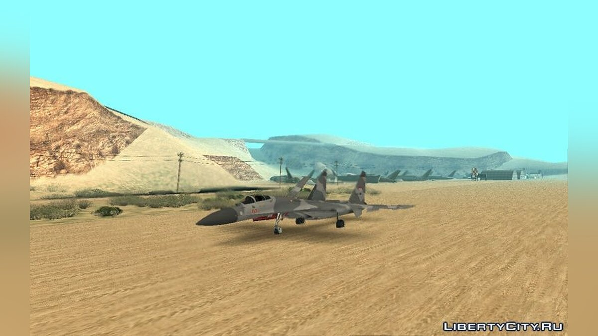 Sukhoi SU-27SK Indonesian Air Force для GTA San Andreas - скриншот #4