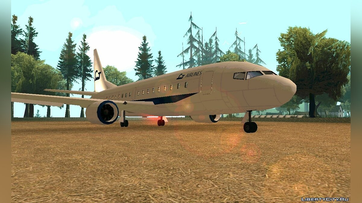 ��амолет и вертолет AT-400 Modded by nyolc8 для GTA San Andreas