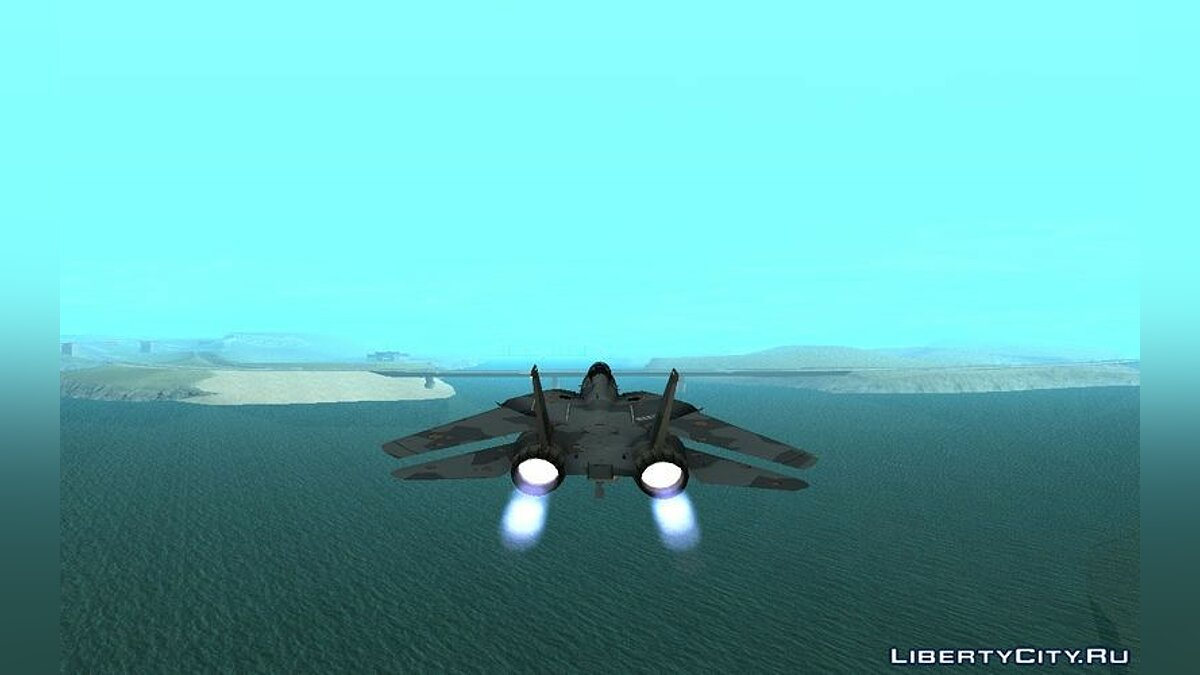 Grumman F-14D SuperTomcat Metal Gear Ray для GTA San Andreas - скриншот #3