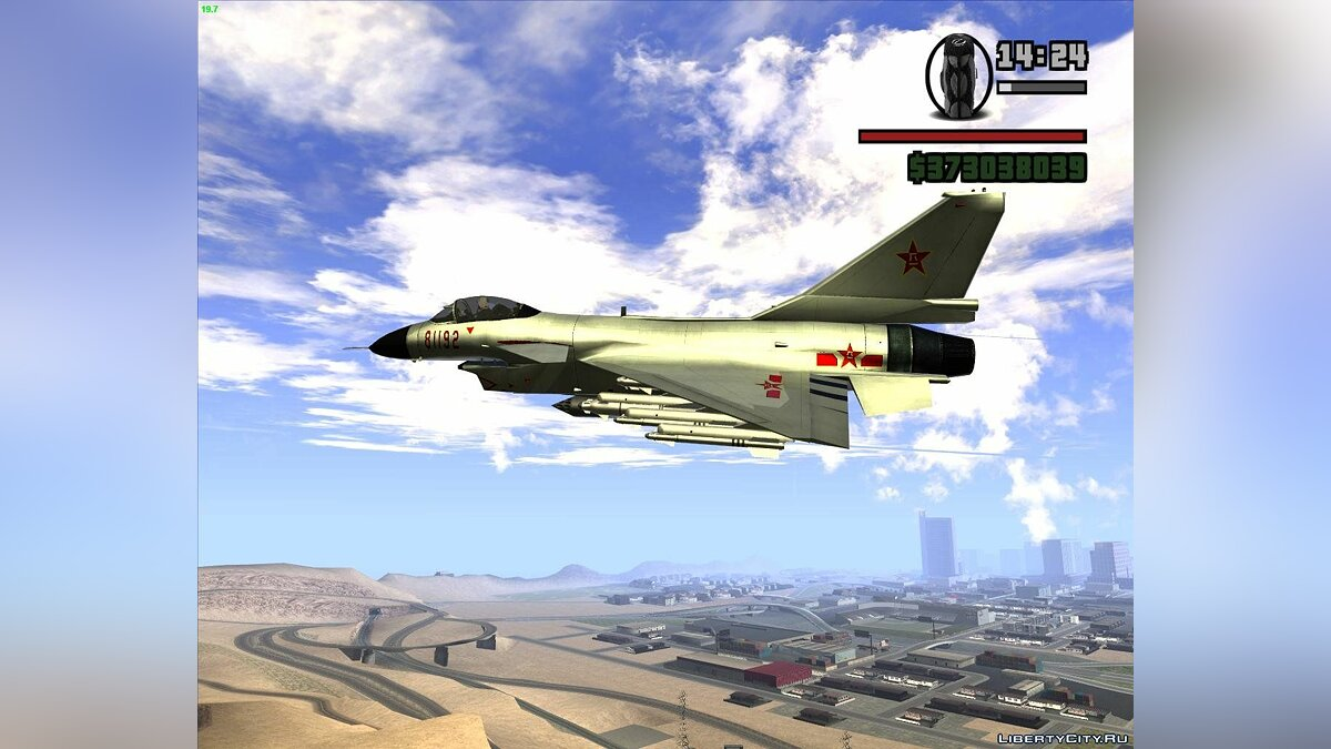 "China's ""Raptors"" Jian-10 Fighters для GTA San Andreas"