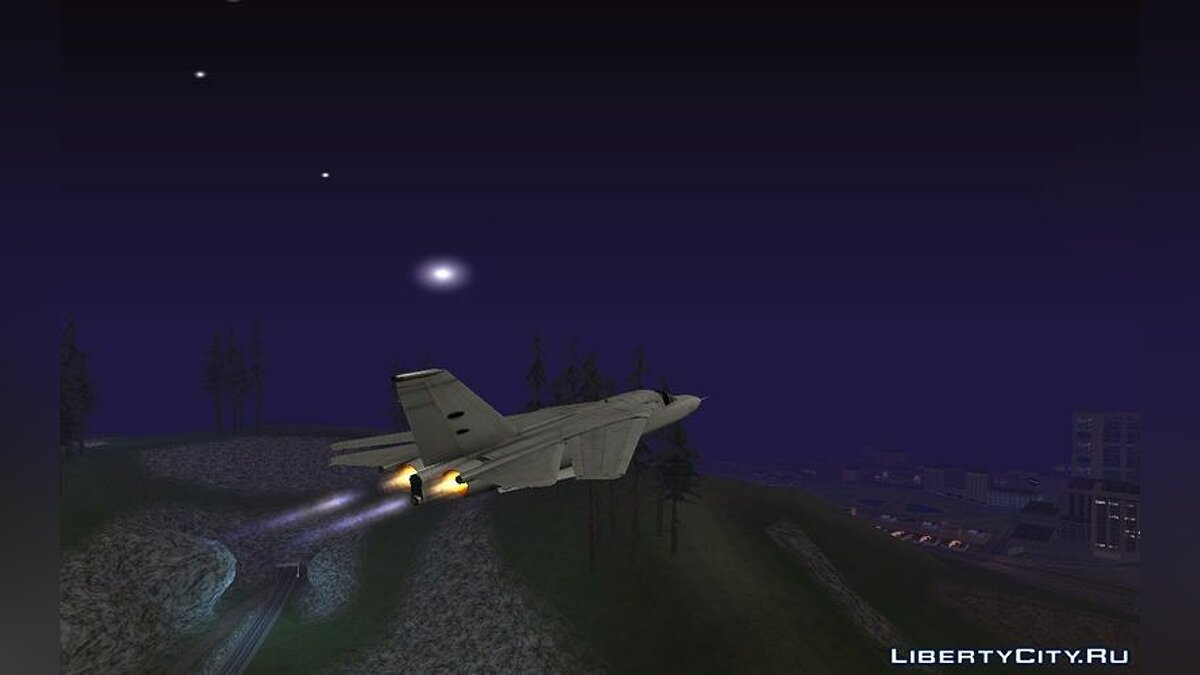 General Dynamics F-111 Aardvark V1.0 для GTA San Andreas - скриншот #4