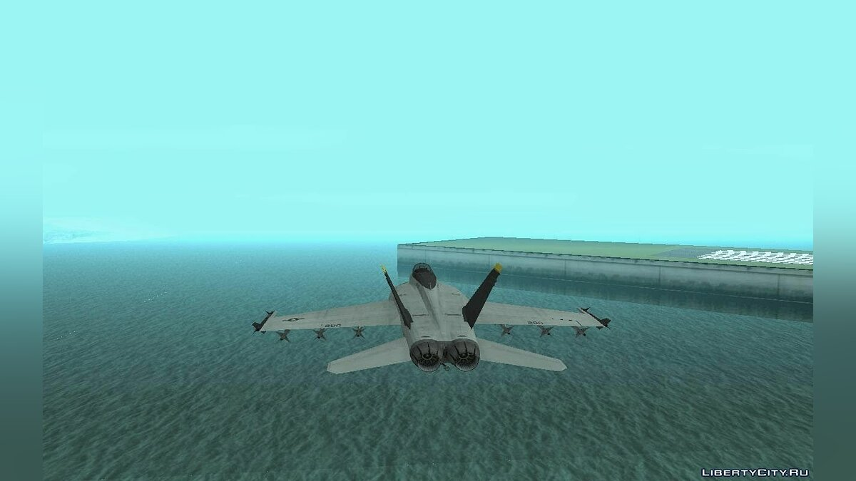 FA-18 Jolly Roger Original для GTA San Andreas - скриншот #9
