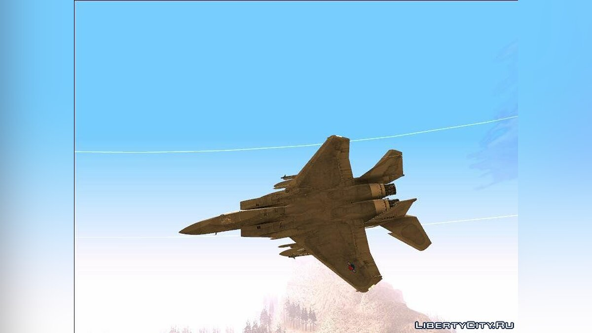 Самолет и вертолет McDonnell Douglas F-15A Eagle - Republic of Korea Air Force для GTA San Andreas