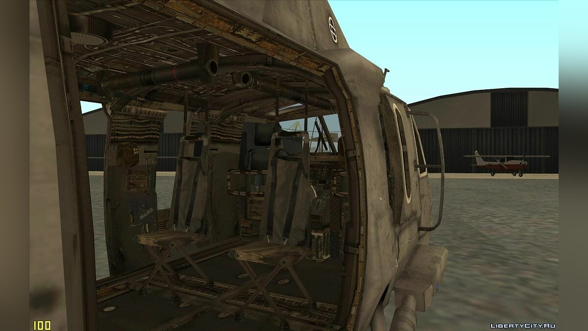 "UH-60 ""Black Hawk"" Modern Warfare 3 для GTA San Andreas - скриншот #3"