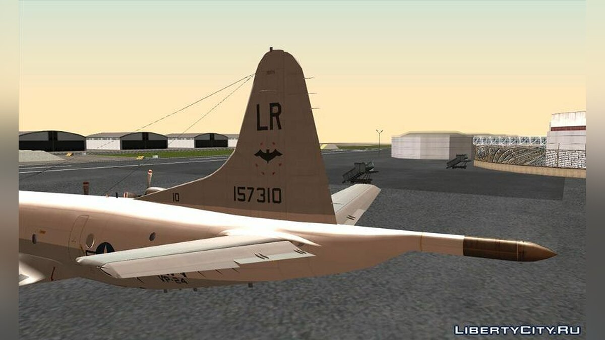 Lockheed P-3C Orion US Navy VP-24 для GTA San Andreas - скриншот #2