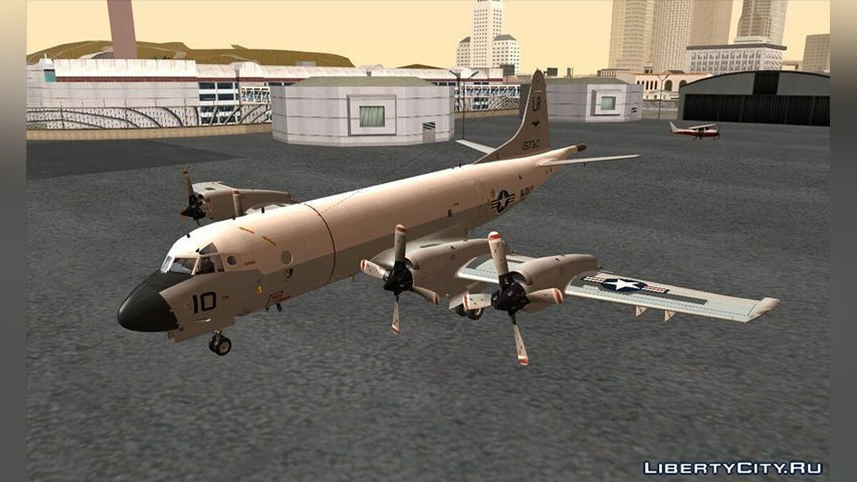 Lockheed P-3C Orion US Navy VP-24 для GTA San Andreas