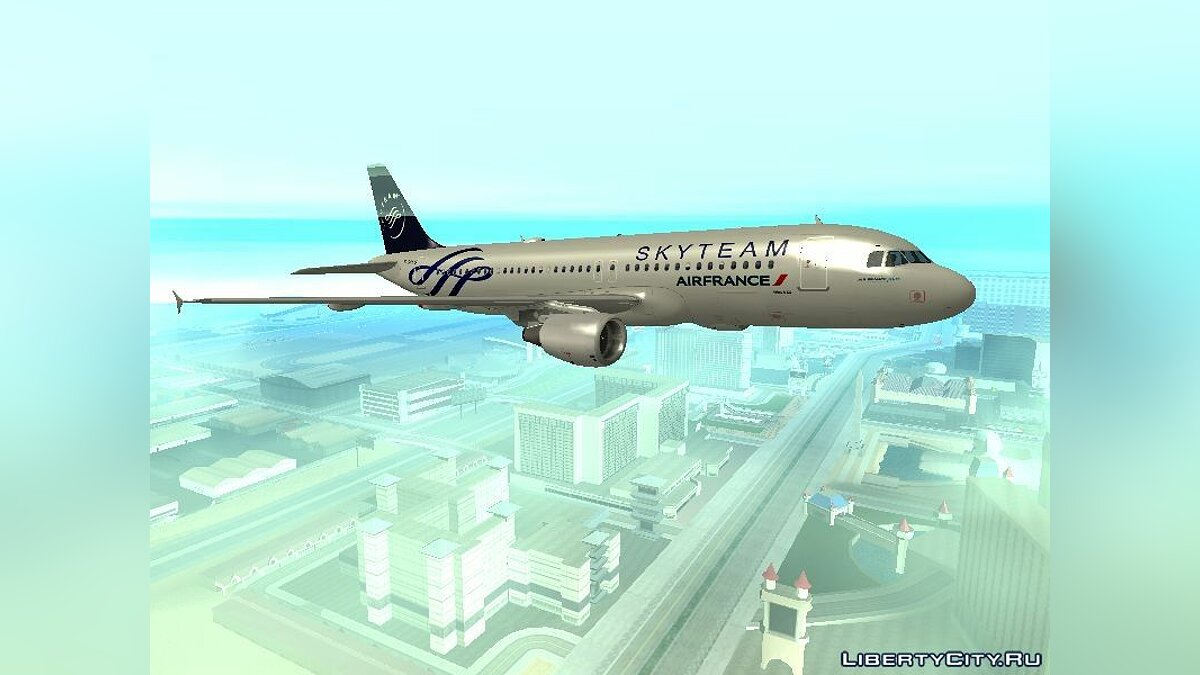TheSilent's A320 Livery Pack для GTA San Andreas
