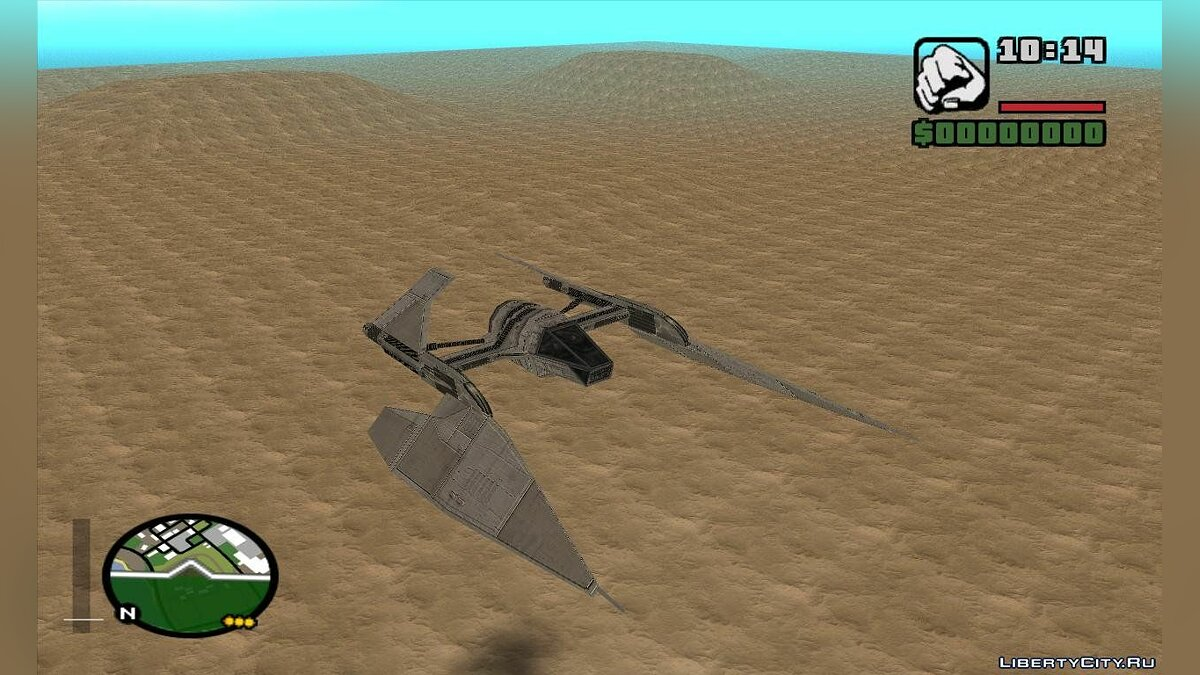 Sith fighter для GTA San Andreas