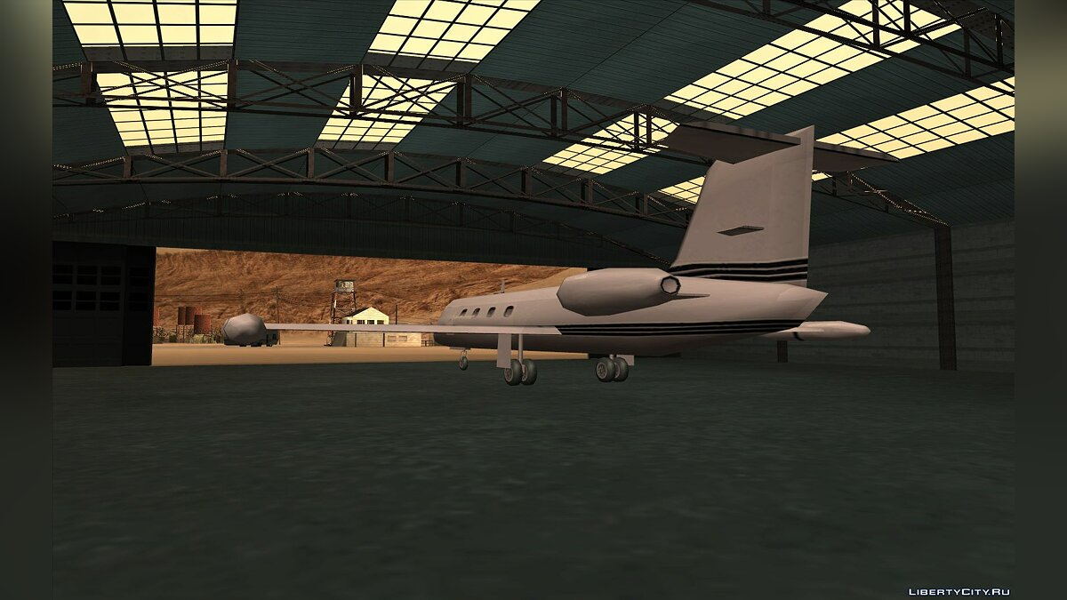 Самолет и вертолет Learjet from GTA III для GTA San Andreas