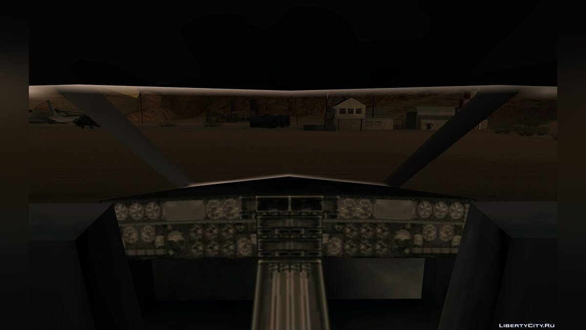 ��амолет и вертолет Learjet from GTA III для GTA San Andreas