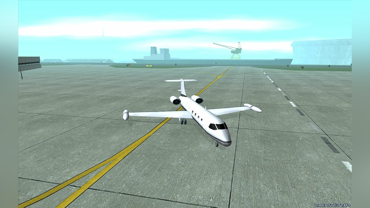 Learjet from GTA III для GTA San Andreas - скриншот #9