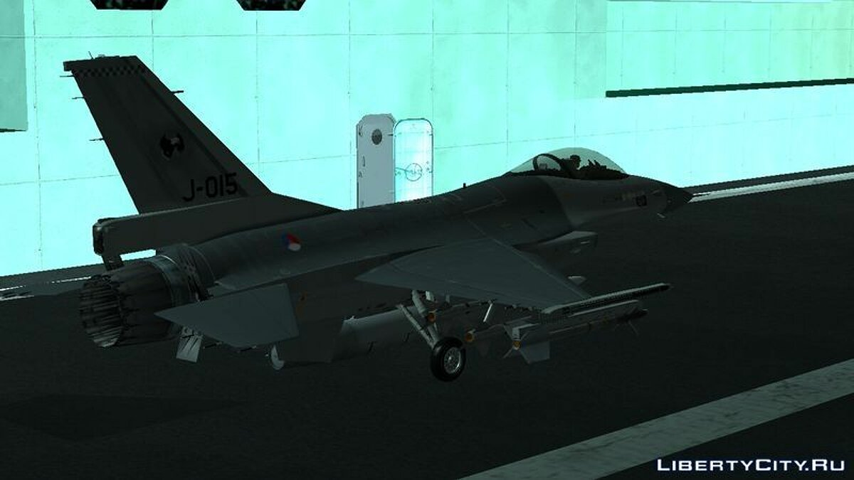 F-16AM Fighting Falcon для GTA San Andreas - скриншот #2