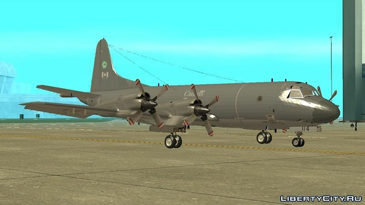 Lockheed P-3 Orion RCAF для GTA San Andreas