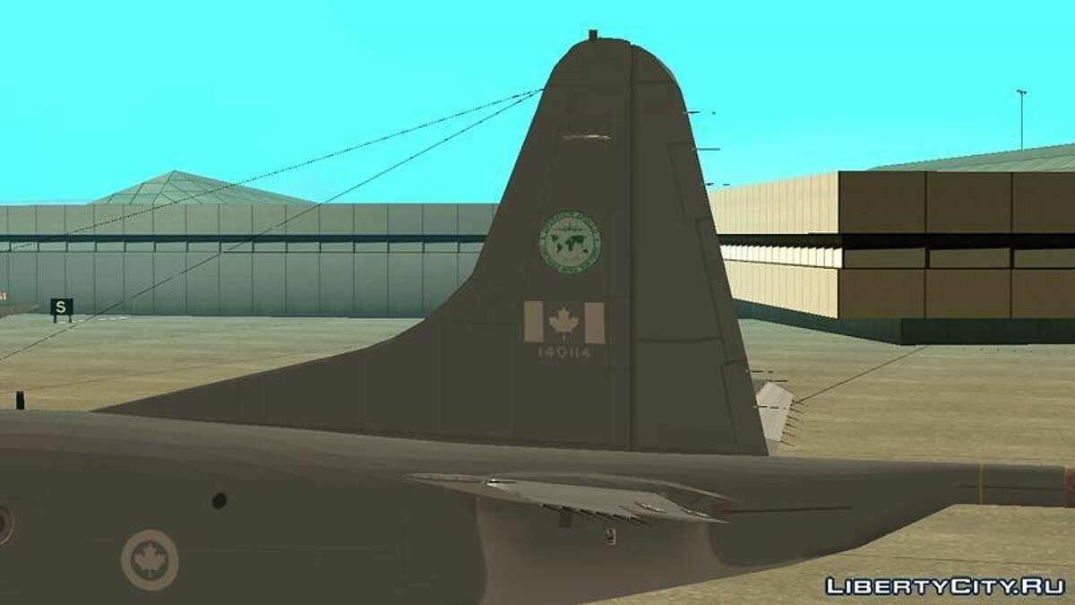 Lockheed P-3 Orion RCAF для GTA San Andreas - скриншот #3