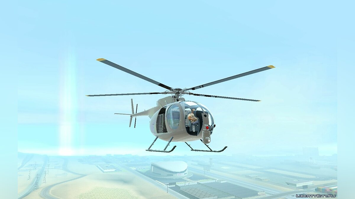 Buzzard Attack Chopper и Buzzard как в GTA 5 для GTA San Andreas