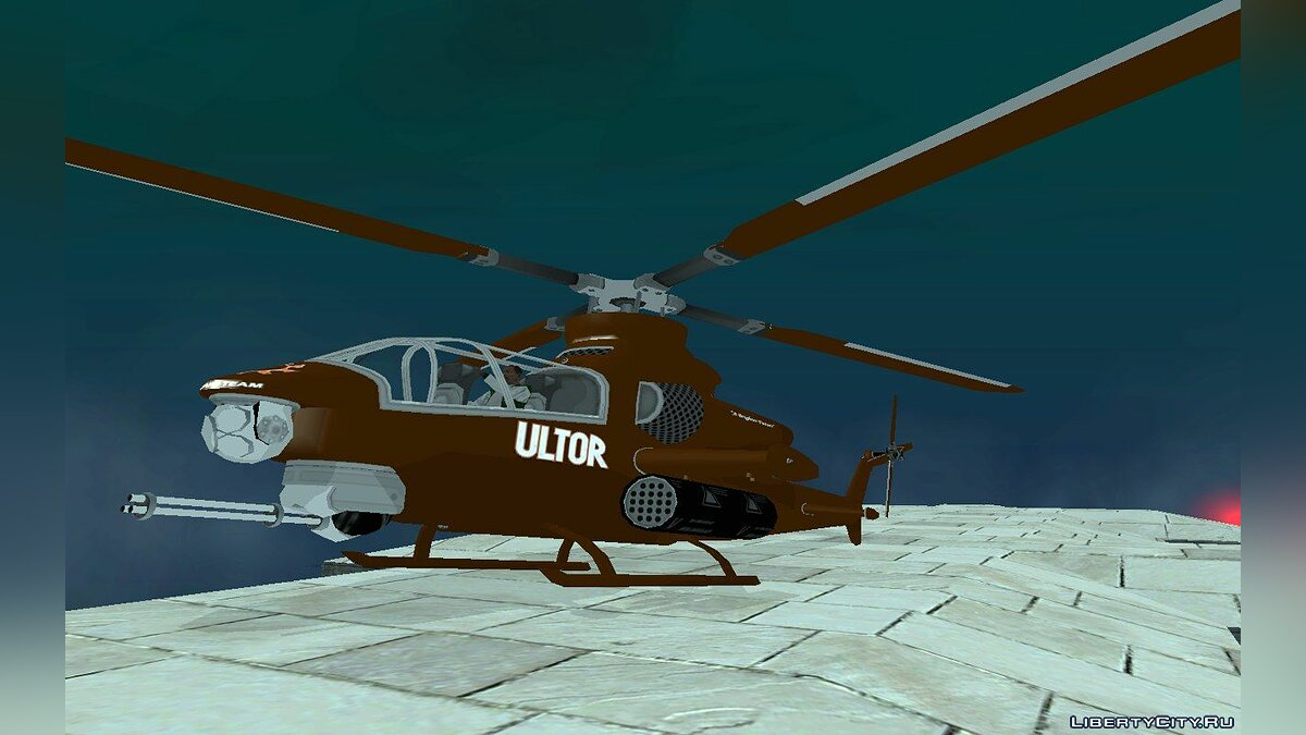 Самолет и вертолет Ultor Tornado from Saints Row 2 v1.0 для GTA San Andreas