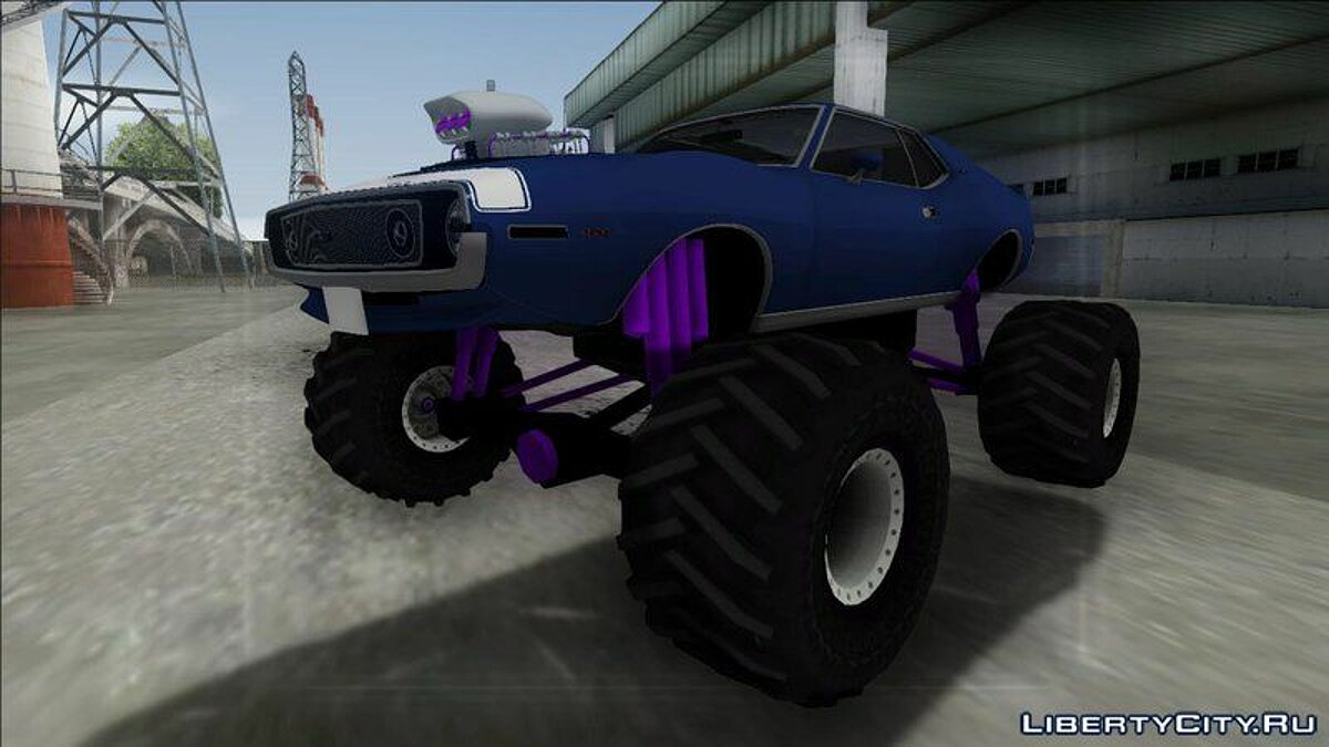 1971 AMC Javelin AMX 401 Monster Truck для GTA San Andreas