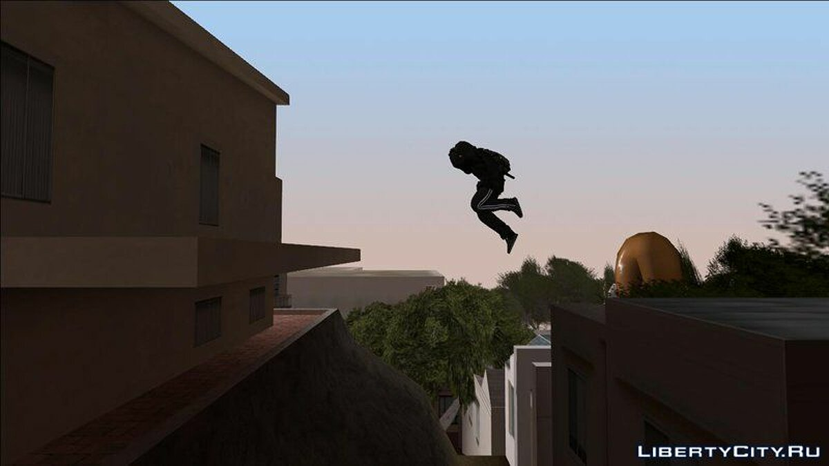 Natural Parkour Animation Pack + Realistic Wallrun And Roll для GTA San Andreas