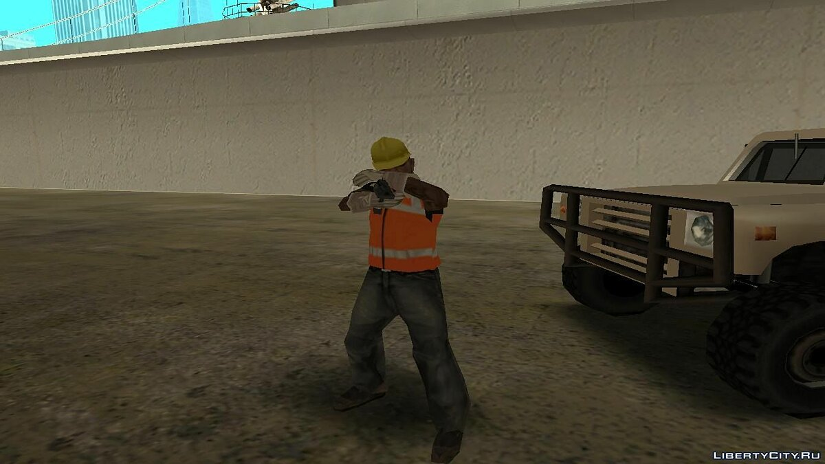 ��од анимаций Desert Eagle Animations Pack для GTA San Andreas