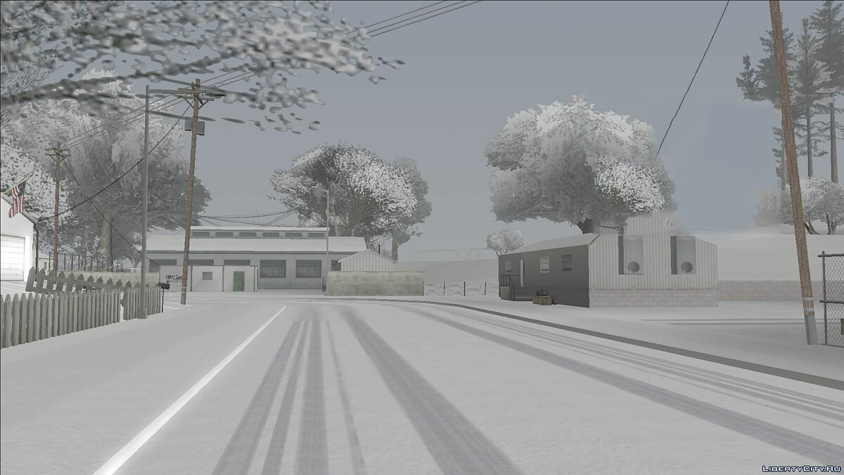 ASI плагин Winter light Colormod V2 by Krokant для GTA San Andreas
