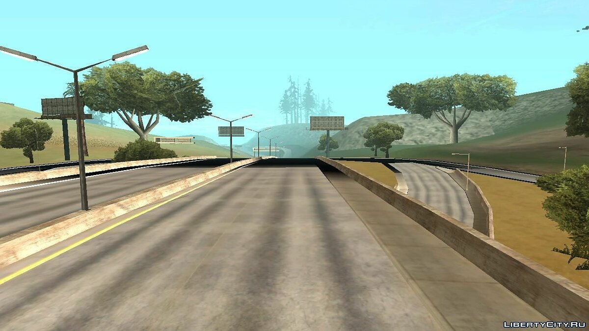 ASI плагин Black Road Fix ASI для GTA San Andreas