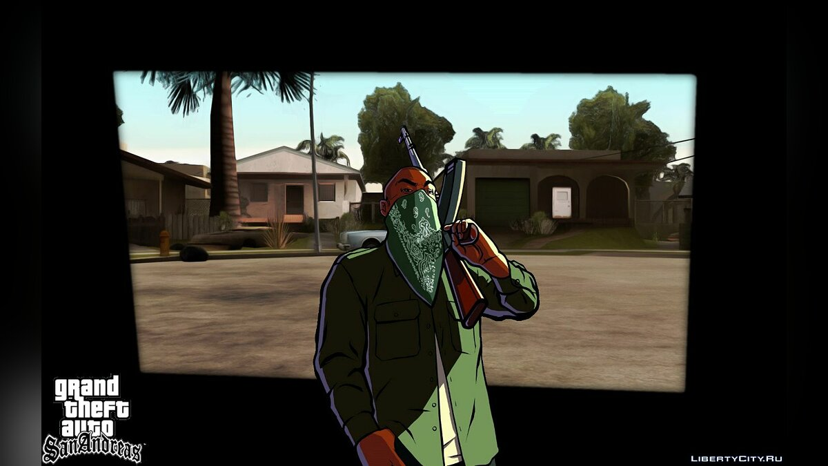 SA Animation Loading Bar для GTA San Andreas