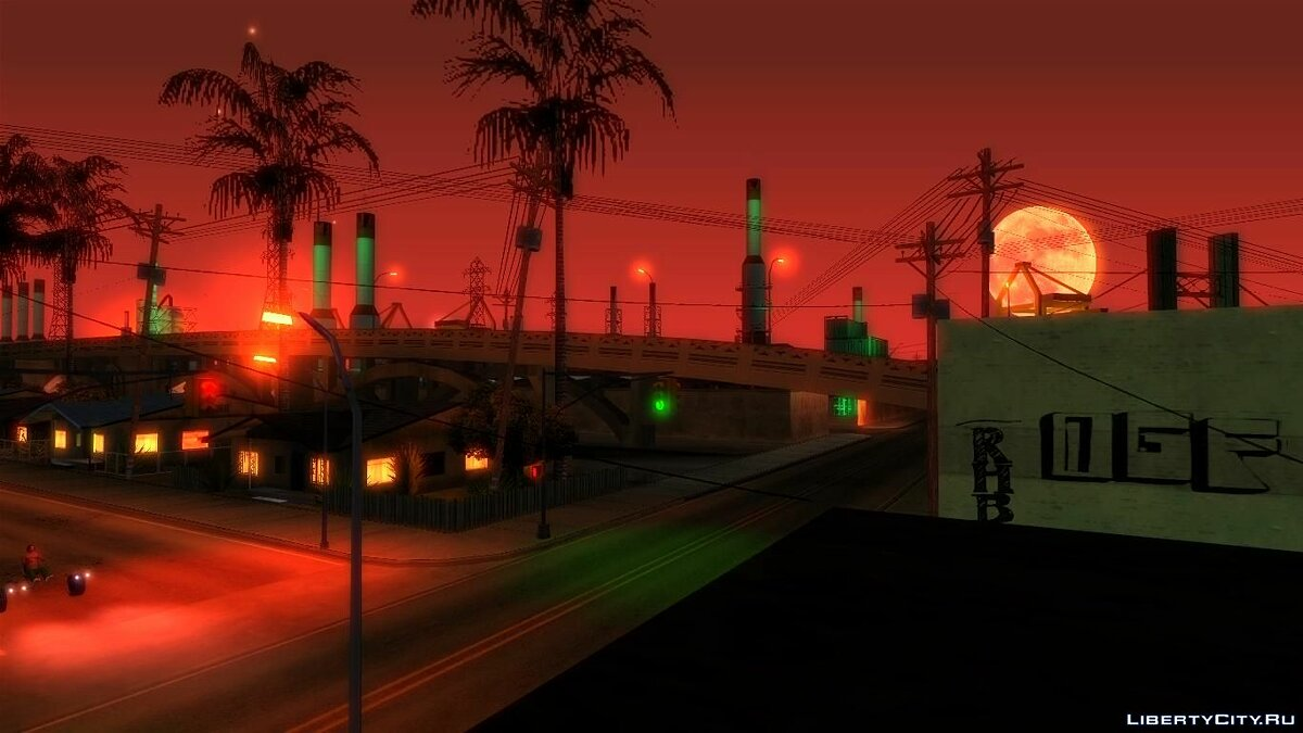 ASI плагин Neon Lights Colormod by Deep Yurple для GTA San Andreas