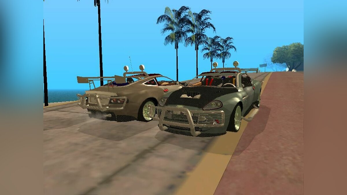 Aston Martin Road Warrior для GTA San Andreas