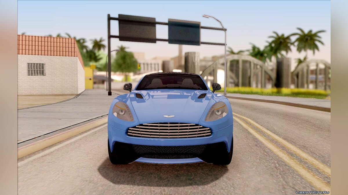 Aston Martin Vanquish 2013 Road version для GTA San Andreas - скриншот #2